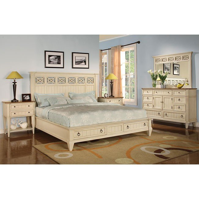 Garden Walk Storage Bedroom Set