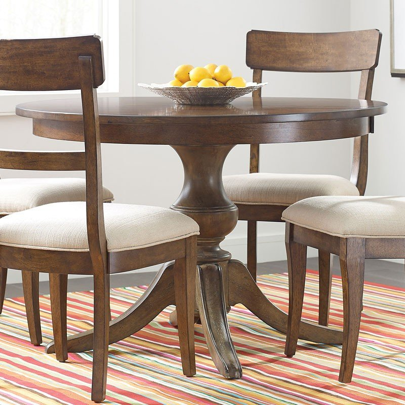 The Nook Inch Round Dining Table Maple Kincaid Furniture - 44 inch round dining table with leaf