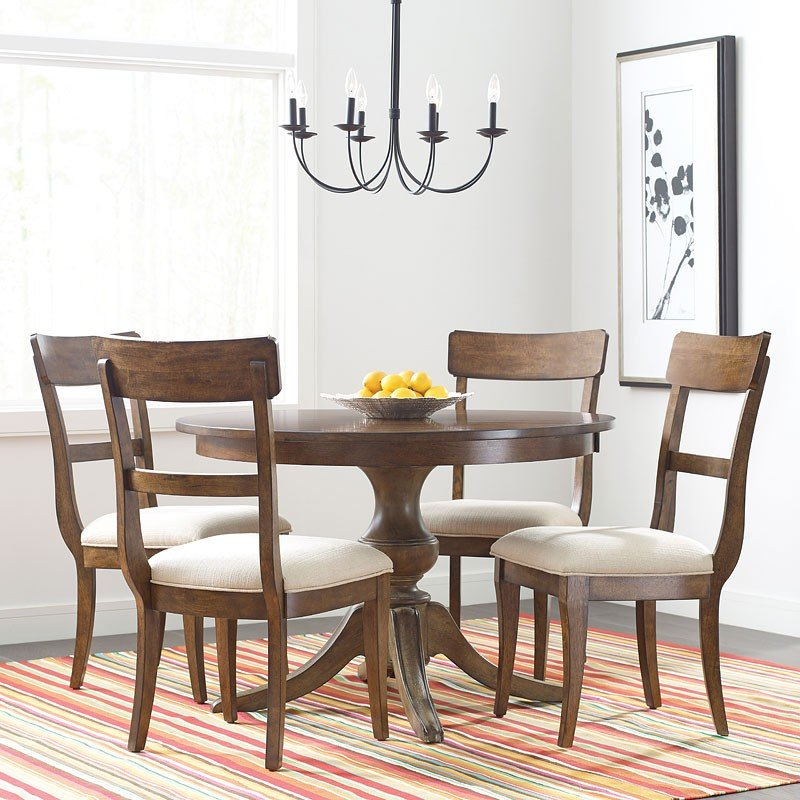Maple Dining Room Set: The Nook 44 Inch Round Dining Room Set (Maple) Kincaid