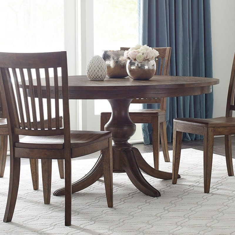 The Nook Inch Round Dining Table Maple Kincaid Furniture - 54 inch round dining room table