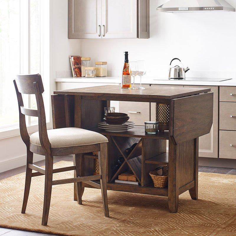 Kitchen Set Island: The Nook Kitchen Island Set (Maple) Kincaid Furniture