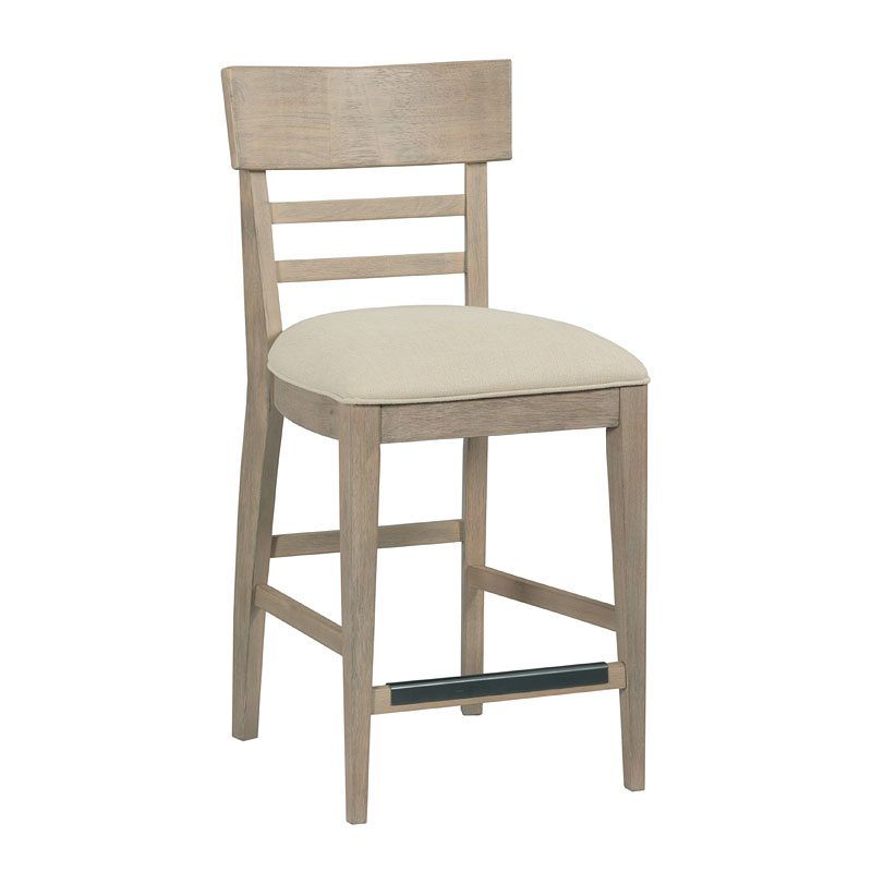 The Nook Counter Height Side Chair Heathered Oak Set Of 2 Kincaid Furniture Furniture Cart