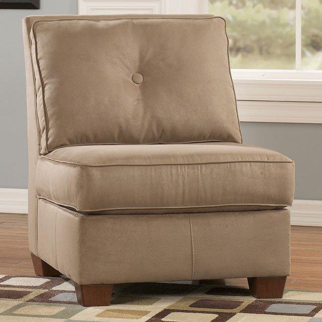 Collin - Mocha Armless Chair