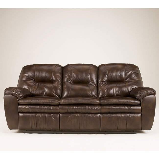Laredo Chocolate Reclining Sofa