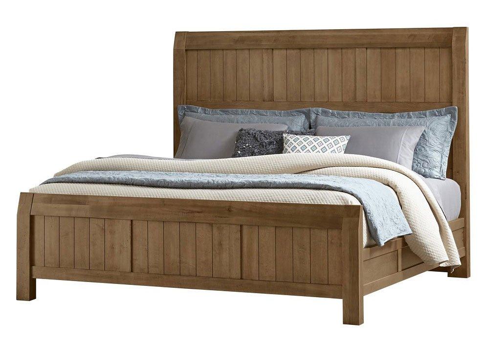 Timber Creek Bed Natural Maple Vaughan Bassett Furniture Cart