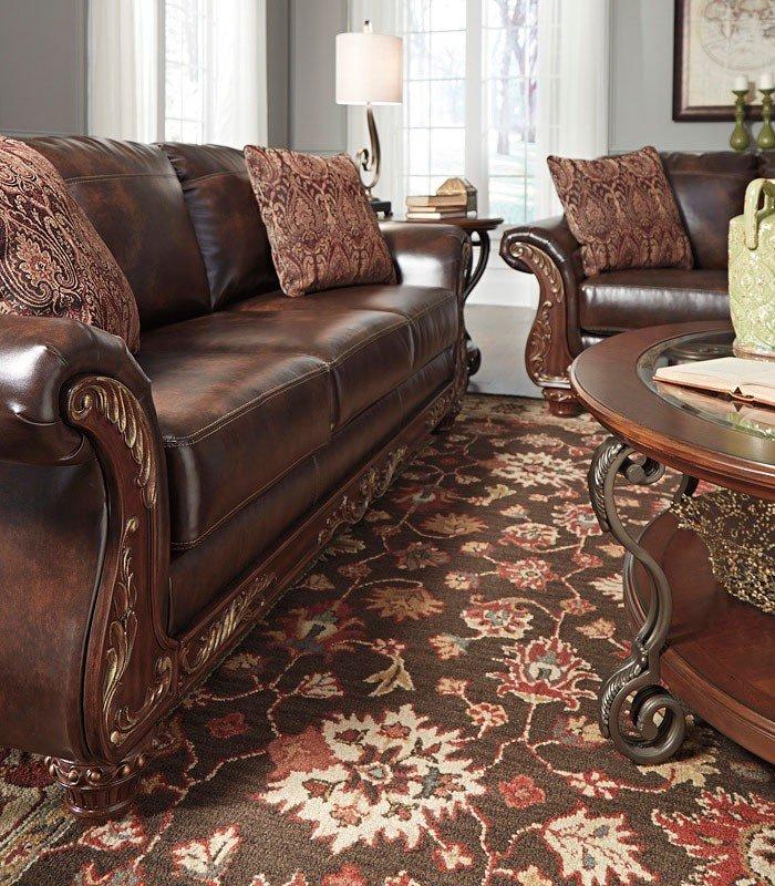 Vanceton Antique Living Room Set