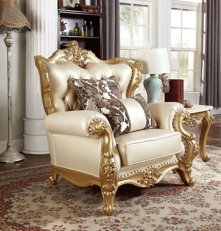 Ashley Furniture Meridian Idaho: Bennito Chair (Pearl) Meridian Furniture