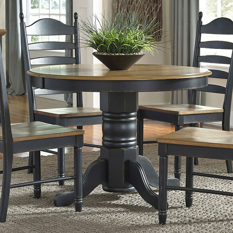 Springfield Ii Round Dining Table Liberty Furniture