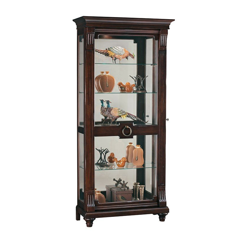 China Curio: Brenna Curio Cabinet Howard Miller