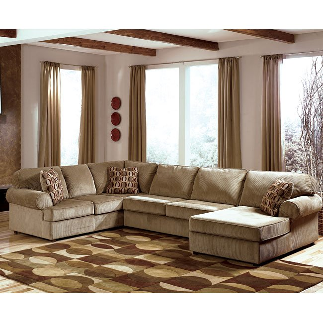 Vista - Cappuccino Right Facing Chaise Sectional Signature ...