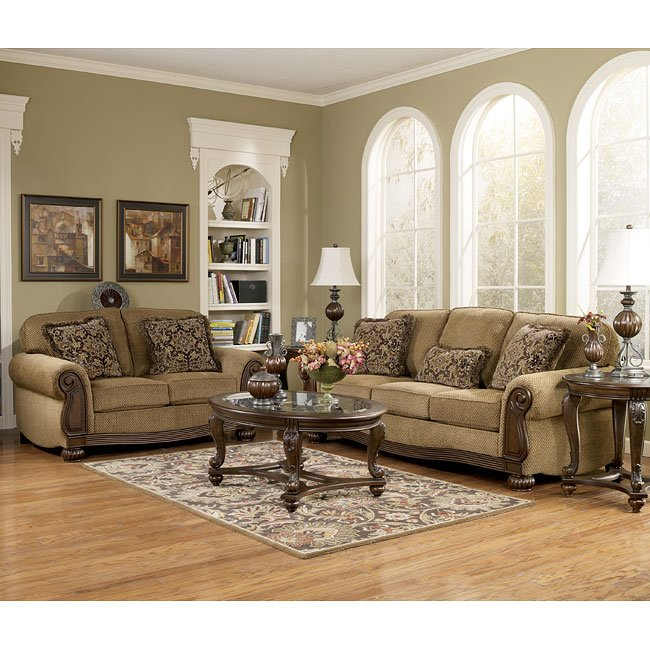 Amber Living Room Set Signature Design, 2