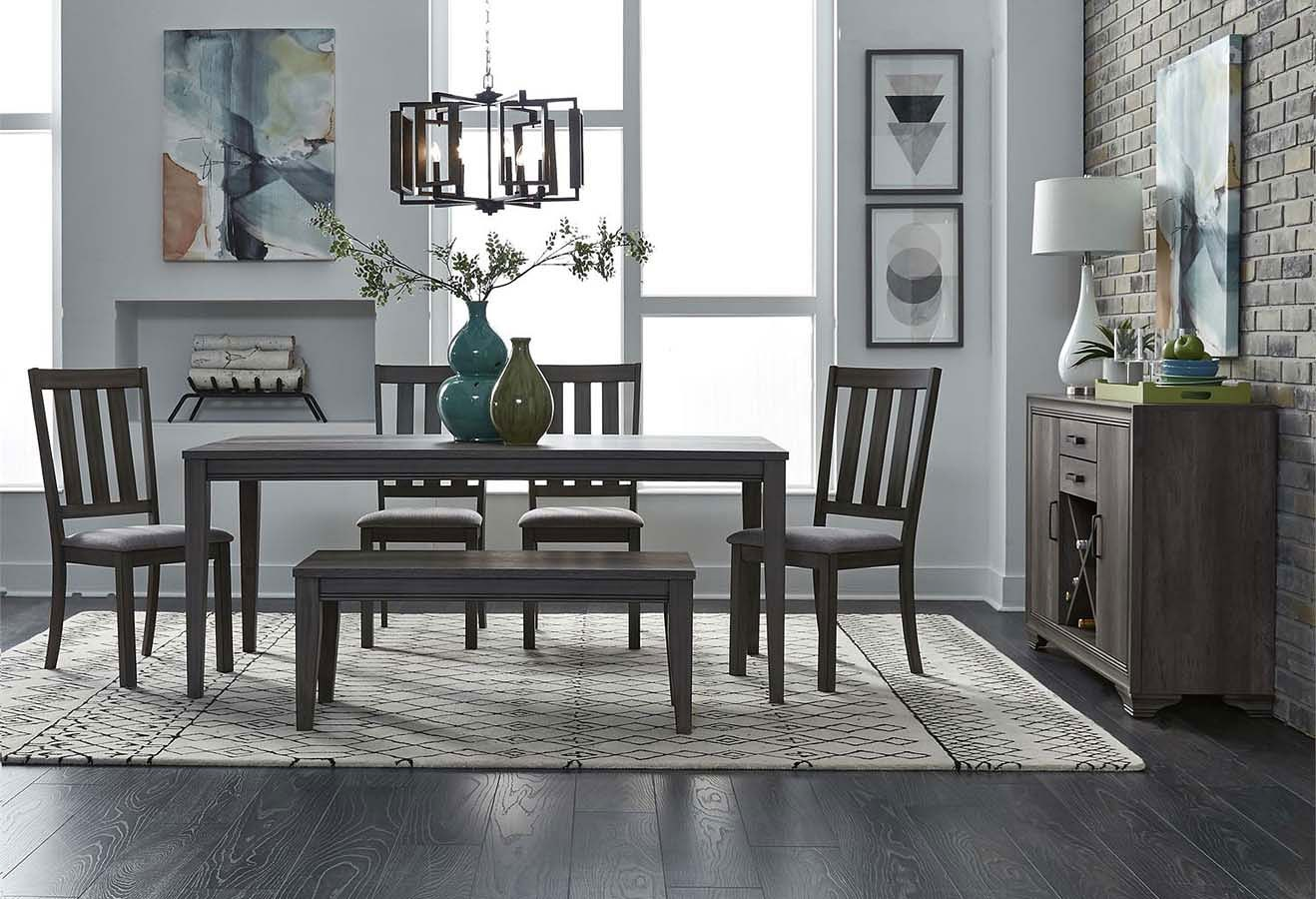 Fabulous Tanners Creek 72 Inch Dining Room Set W Bench Ncnpc Chair Design For Home Ncnpcorg
