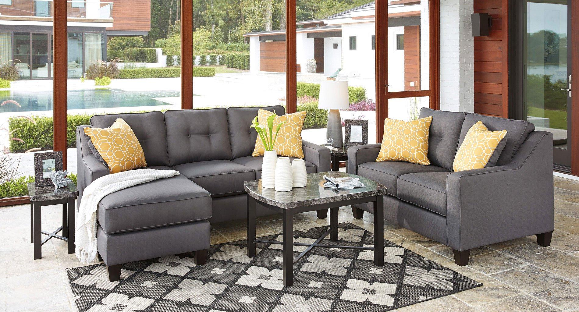 Aldie Nuvella Gray Living Room Set Benchcraft 1 Reviews