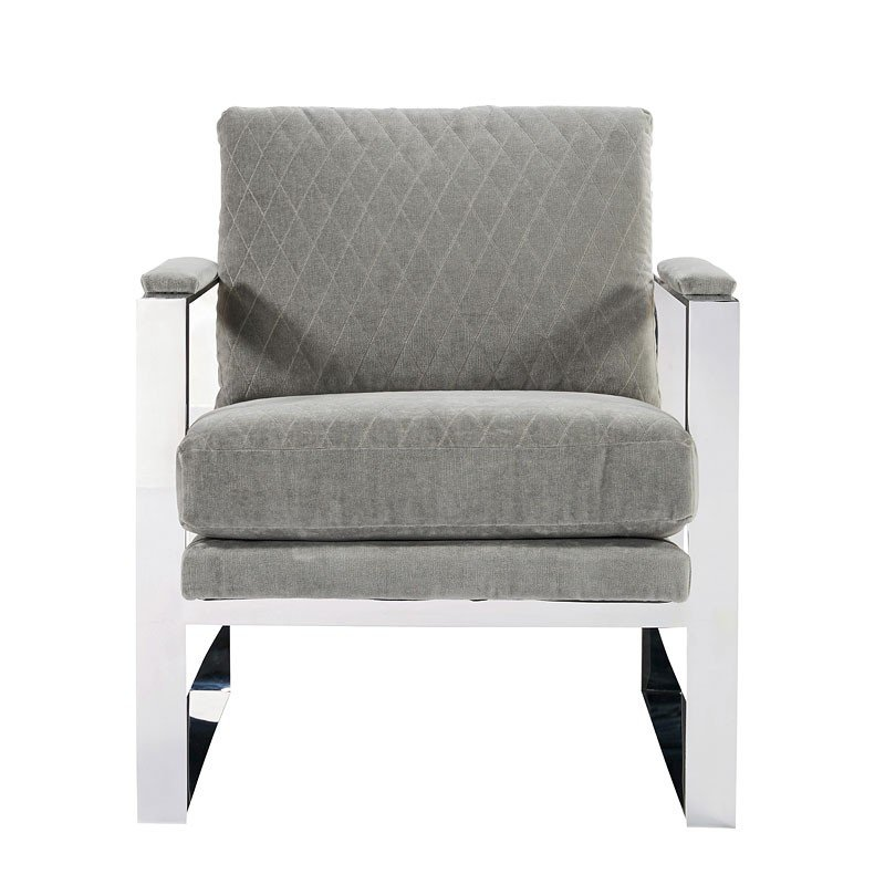 Accents Corbin Accent Chair (Grey Cloud) Universal