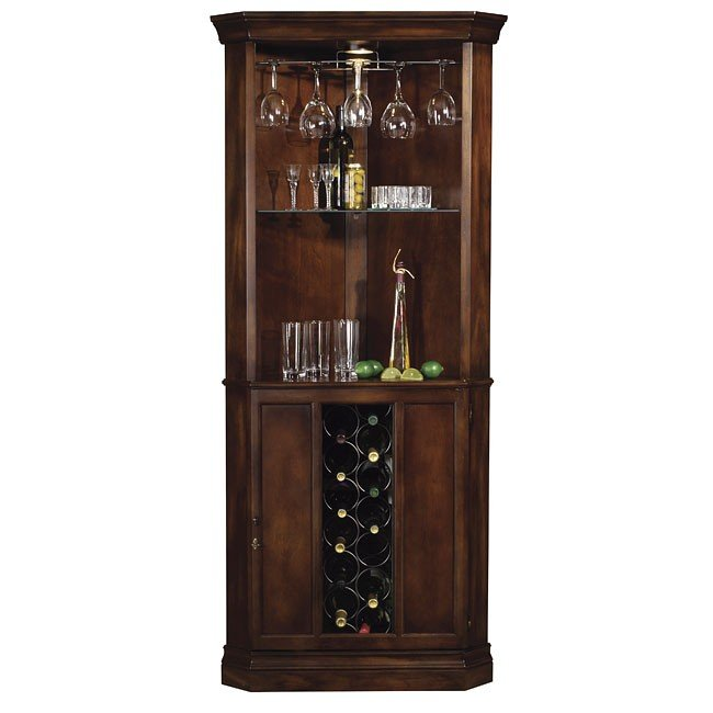 Piedmont Corner Wine and Bar Cabinet