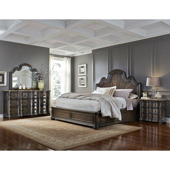 Cortina Low Profile Bedroom Set Pulaski Furniture