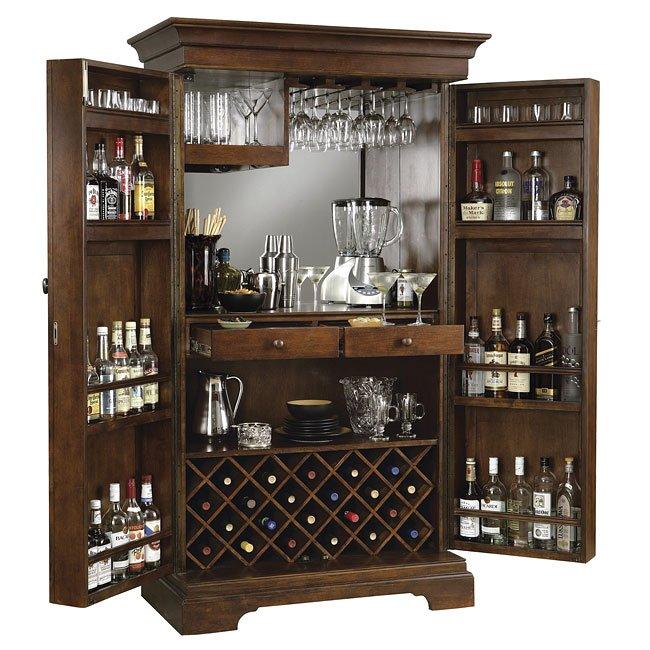 Sonoma Wine and Bar Cabinet