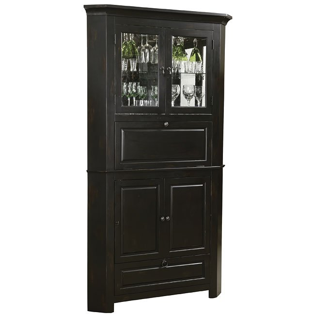 Cornerstone Estates Corner Bar Cabinet