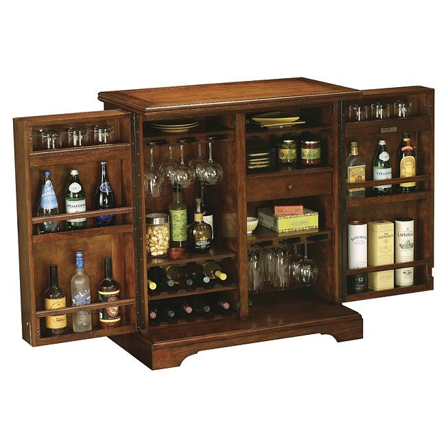 Bar Furniture Home: Lodi Wine And Bar Cabinet Howard Miller