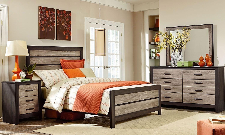 fremont panel bedroom set standard furniture furniture cart. Black Bedroom Furniture Sets. Home Design Ideas