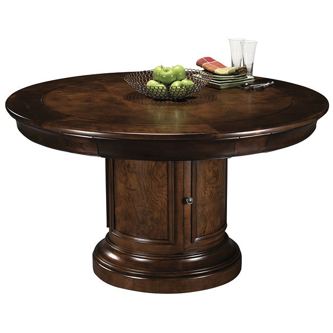 Ithaca Round Game Table Set