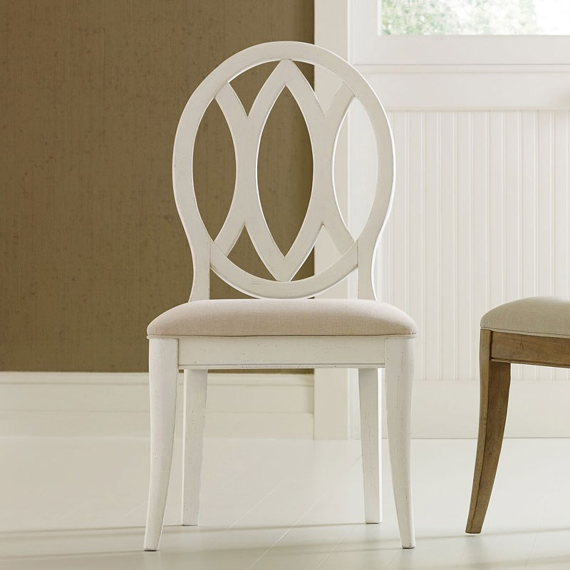 Everyday Sea Salt Oval Back Side Chair (Set Of 2)