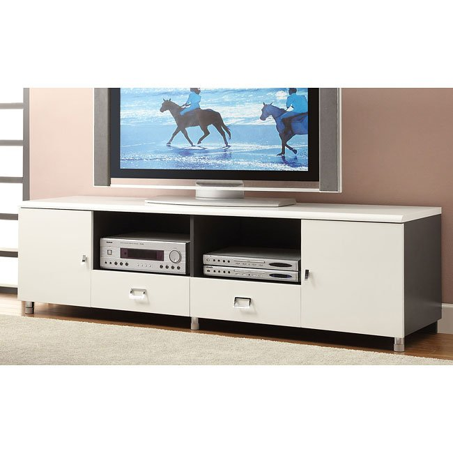 High Gloss 70 Inch TV Console