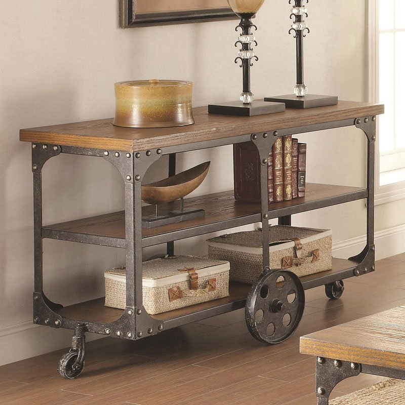 Industrial Occasional Table Set Coaster Furniture
