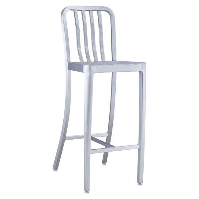 Gastro Outdoor Bar Chair (Brushed Aluminum)