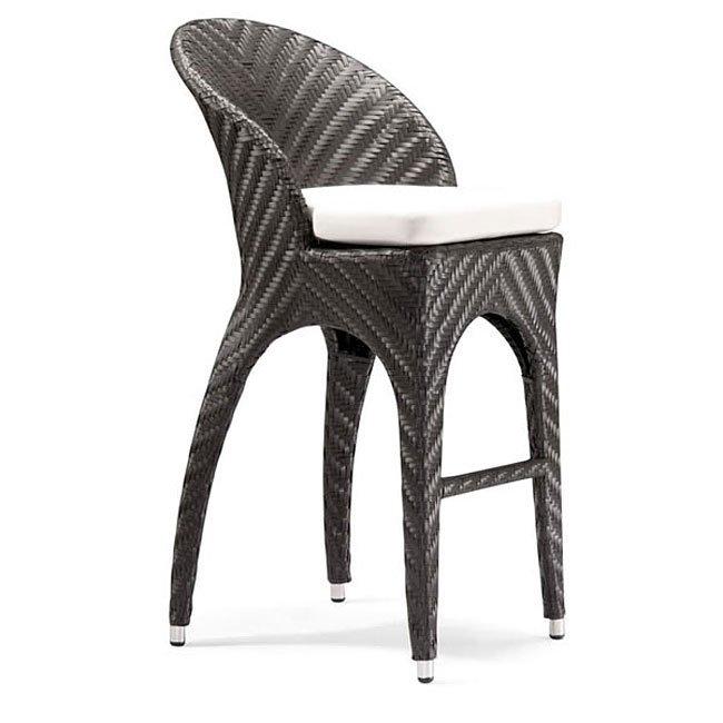 Corona Outdoor Bar Chair (Espresso)