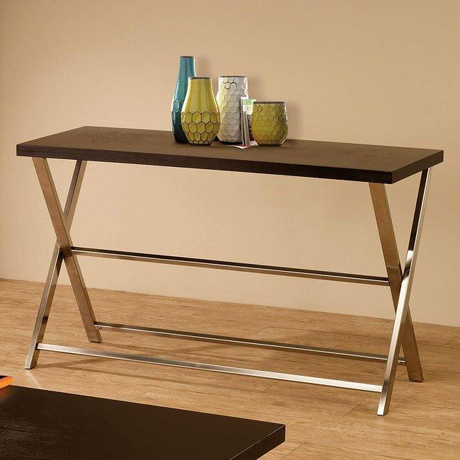 Sensational Wood And Metal Modern Sofa Table Alphanode Cool Chair Designs And Ideas Alphanodeonline