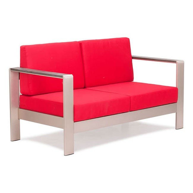 Cosmopolitan Outdoor Sofa (Red)