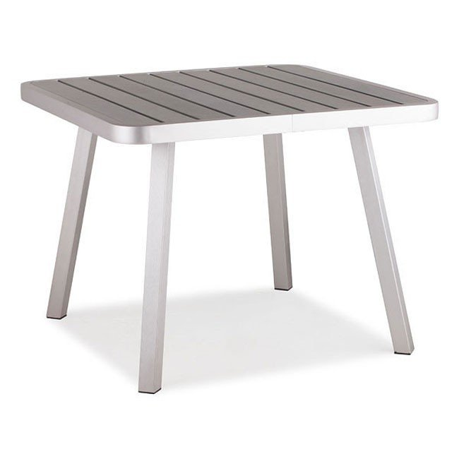 Township Outdoor Dining Square Table (Aluminum)