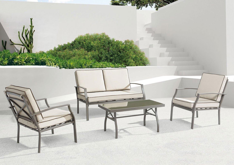 Grand Beach Outdoor Seating Set (Beige)