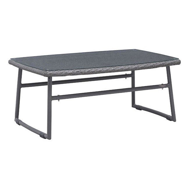 Ingonish Beach Outdoor Coffee Table (Grey)