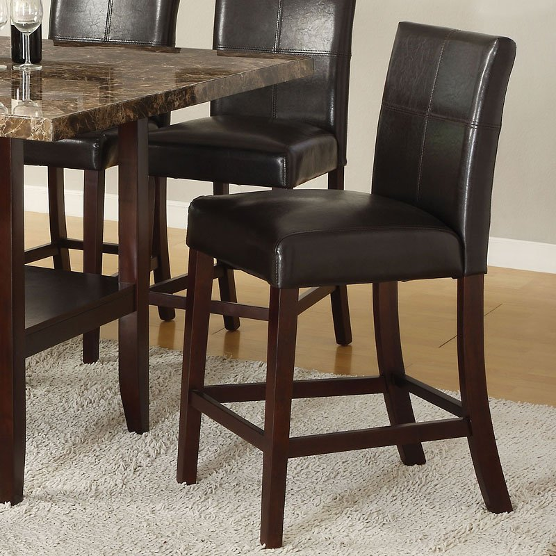 Idris Counter Height Chair Set Of 2 Acme Furniture 1