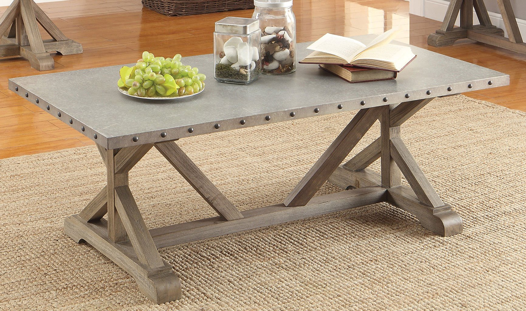 Attirant Driftwood Coffee Table