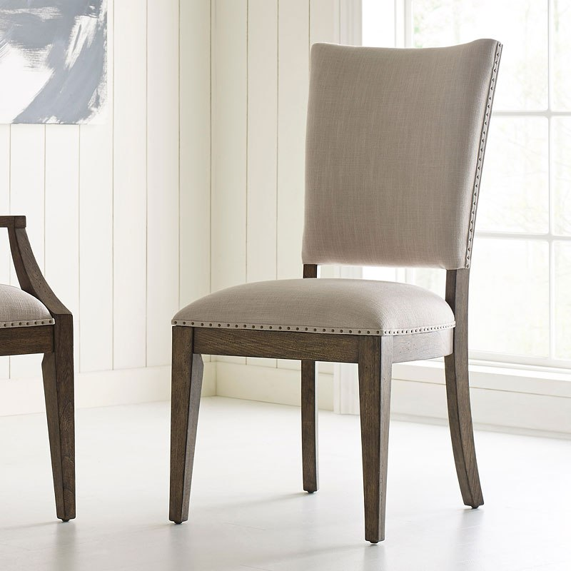 Plank Road Howell Side Chair (Stone) (Set Of 2) Kincaid