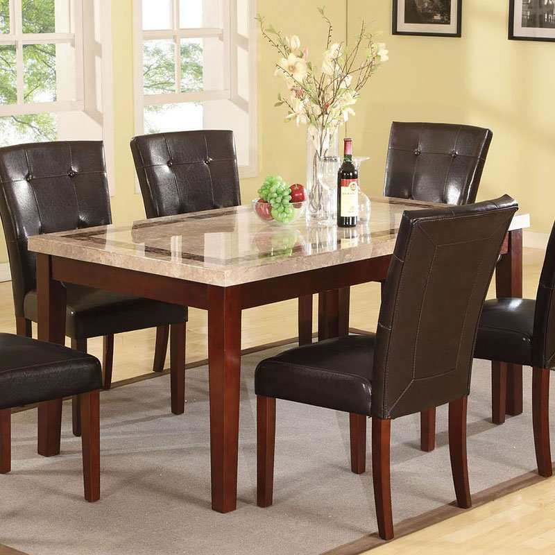 Earline Dining Room Set W/ Forbes Chairs Acme Furniture