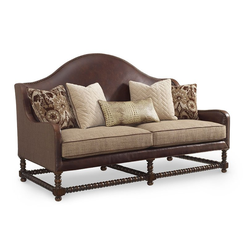 The Foundry Hickory Sofa
