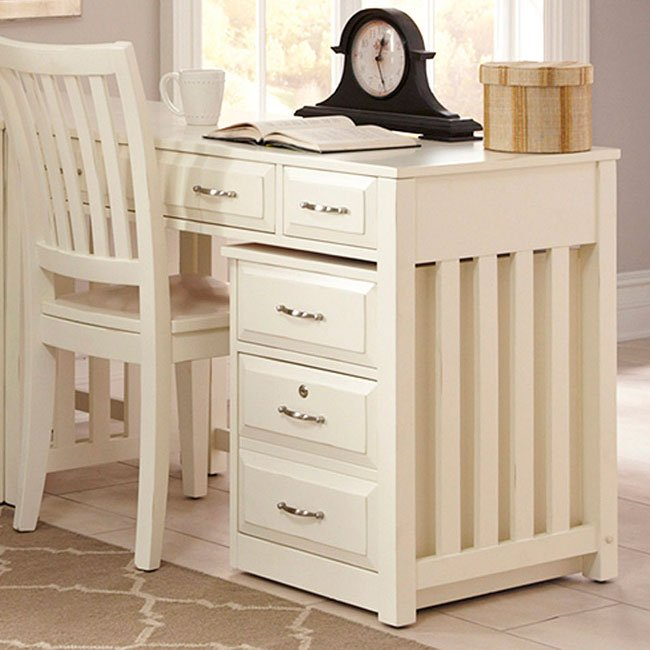 Hampton Bay Writing Desk (White)
