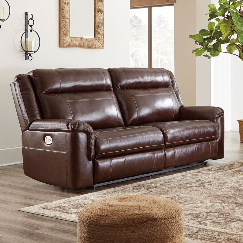 Superb Wyline Coffee Power Reclining Sofa W Adjustable Headrest Gmtry Best Dining Table And Chair Ideas Images Gmtryco