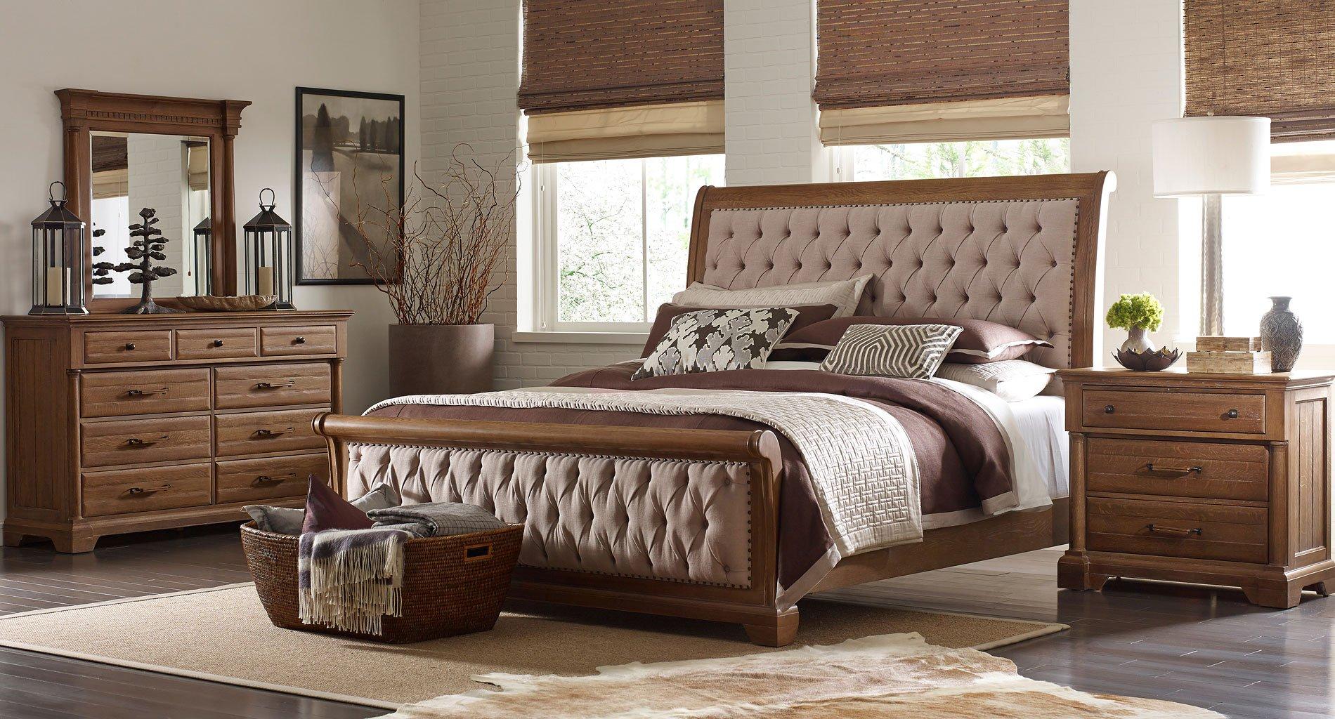 Stone Ridge Colusa Sleigh Bedroom Set