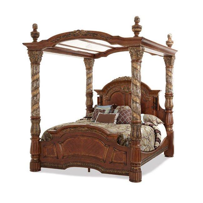 Villa Valencia Canopy Bedroom Set