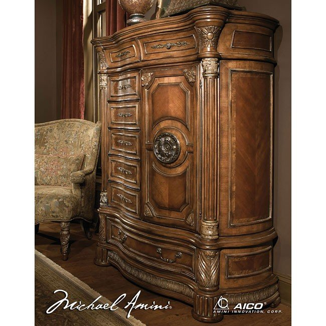 Villa Valencia Gentlemans Chest Aico Furniture Furniture