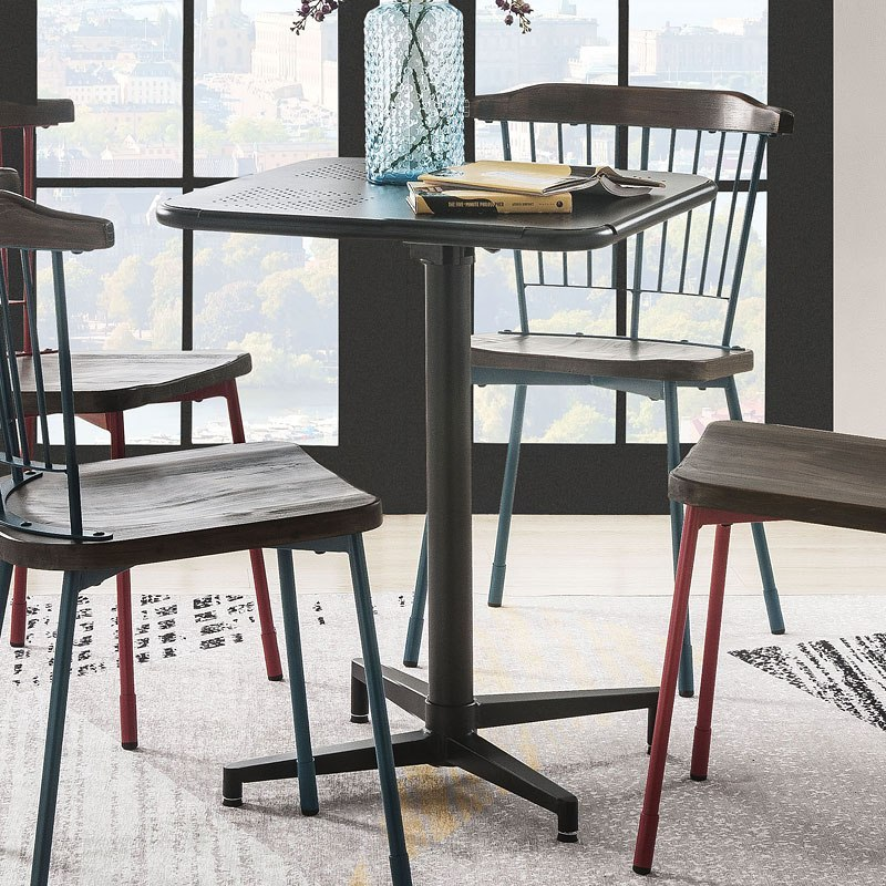 Miraculous Olson Folding Table Set Black W Orien Chairs Andrewgaddart Wooden Chair Designs For Living Room Andrewgaddartcom