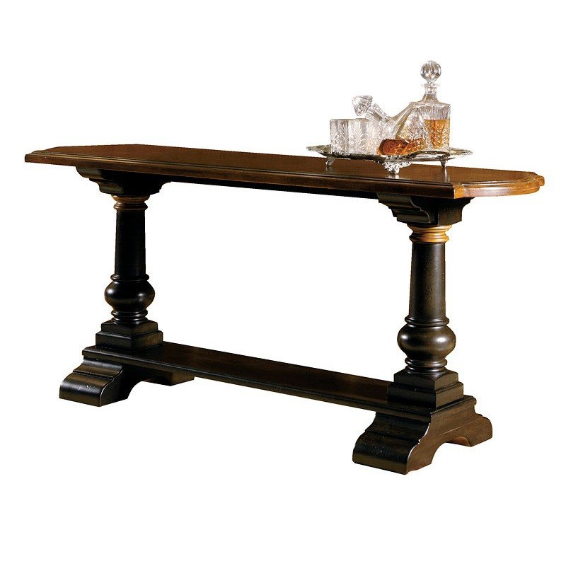 Tuscan Estates Trestle Console Table