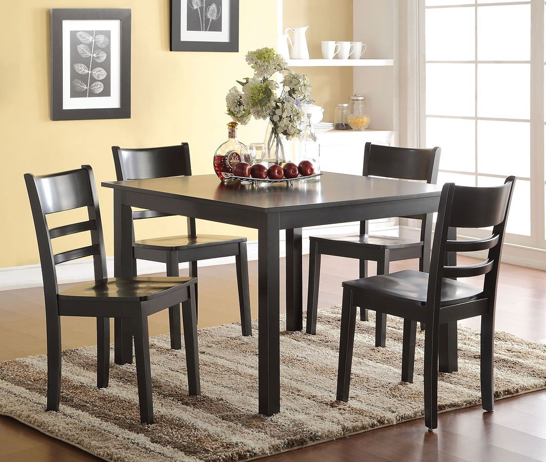 Veles 5-Piece Dining Room Set Acme Furniture
