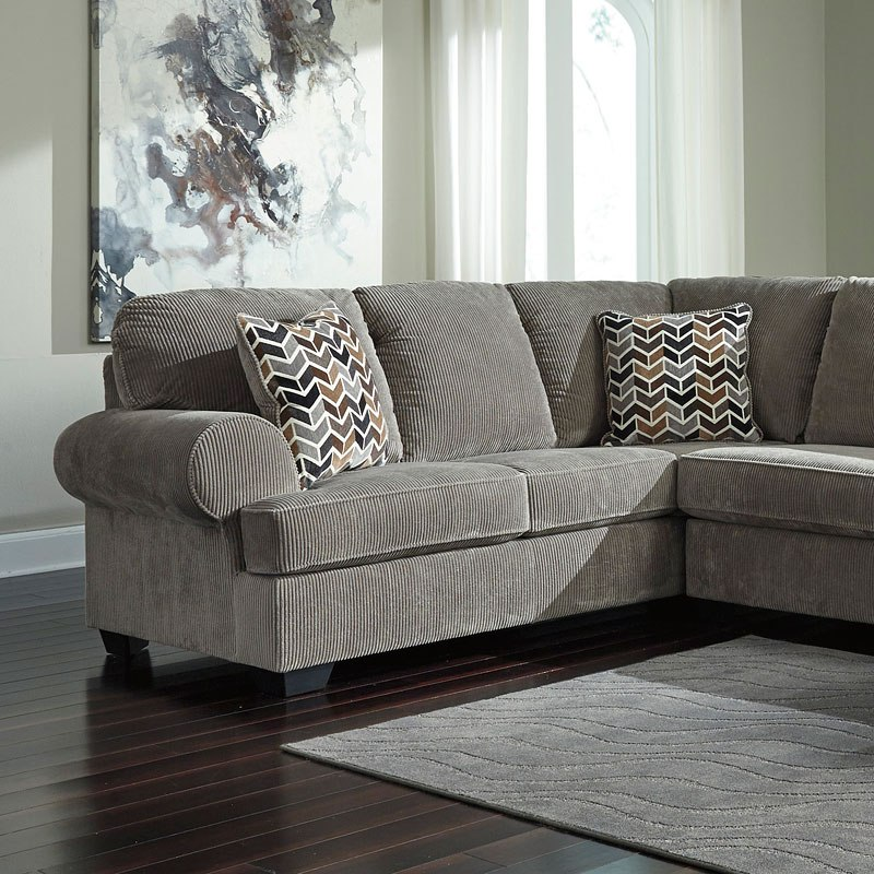 Modular Sectional Sofa Ashley: Jinllingsly Gray Modular Sectional Signature Design