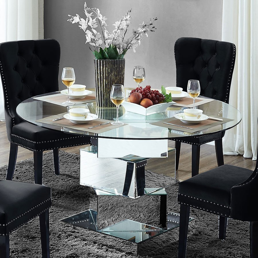 Haven Mirrored Dining Table